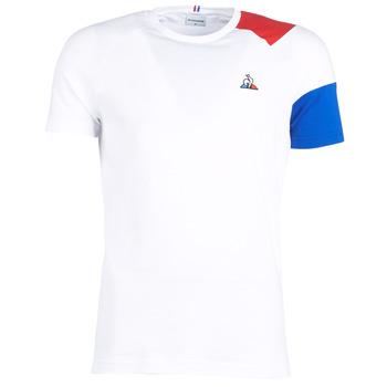Îmbracaminte Bărbați Tricouri mânecă scurtă Le Coq Sportif ESS Tee SS N°10 M Alb / Roșu / Albastru