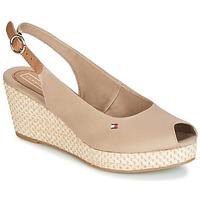 Pantofi Femei Sandale și Sandale cu talpă  joasă Tommy Hilfiger ELBA 39D2 Bej