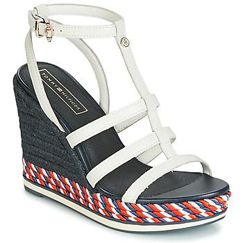 Pantofi Femei Sandale  Tommy Hilfiger VANCOUVER 7A Alb