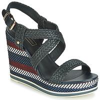 Pantofi Femei Sandale și Sandale cu talpă  joasă Tommy Hilfiger VANCOUVER 9Y Bleumarin