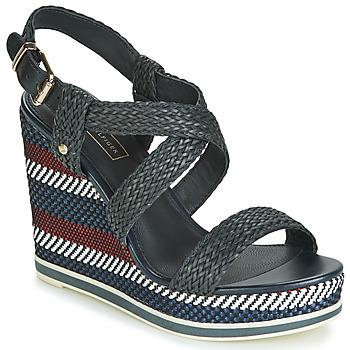 Pantofi Femei Sandale  Tommy Hilfiger VANCOUVER 9Y Bleumarin