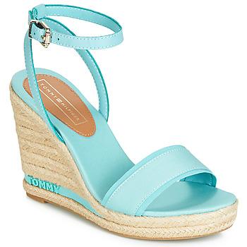 Pantofi Femei Sandale  Tommy Hilfiger ELENA 78C Albastru / Albastru-cerului