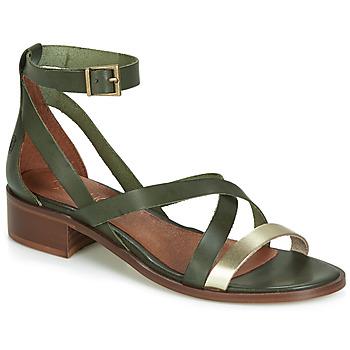 Pantofi Femei Sandale și Sandale cu talpă  joasă Casual Attitude JALAYECE Verde