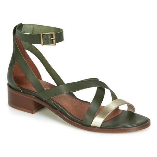 Încăltăminte Femei Sandale și Sandale cu talpă  joasă Casual Attitude JALAYECE Verde