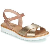 Pantofi Femei Sandale și Sandale cu talpă  joasă Casual Attitude JALAYEDE Roz / Auriu