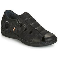 Pantofi Bărbați Sandale  Casual Attitude ZIRONDEL Negru