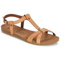 Pantofi Femei Sandale și Sandale cu talpă  joasă Casual Attitude JALIYAXE Camel