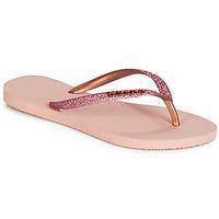 Pantofi Femei  Flip-Flops Havaianas SLIM GLITTER Roz