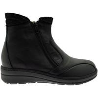 Pantofi Femei Botine Calzaturificio Loren LOM2755ne nero