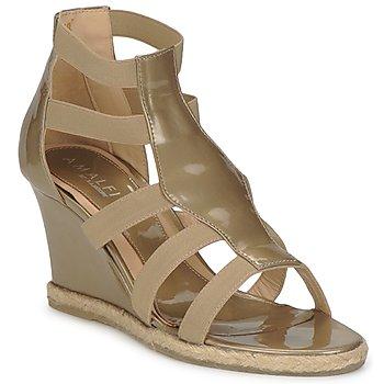 Pantofi Femei Sandale  Amalfi by Rangoni LEMA Vernice / Taupe