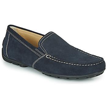 Pantofi Bărbați Mocasini Geox MONET Albastru