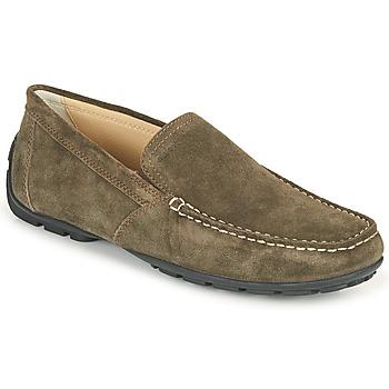 Pantofi Bărbați Mocasini Geox MONET Coffee