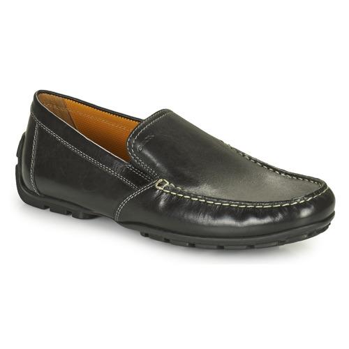 Pantofi Bărbați Mocasini Geox MONET Negru