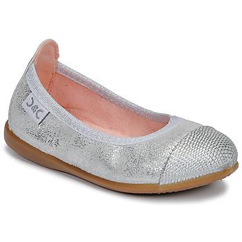 Pantofi Fete Balerin și Balerini cu curea Citrouille et Compagnie JARAMIL Argintiu
