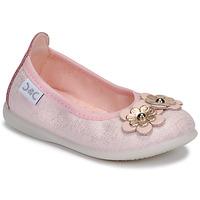 Pantofi Fete Balerin și Balerini cu curea Citrouille et Compagnie JATAMAL Roz