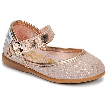 Pantofi Fete Balerin și Balerini cu curea Citrouille et Compagnie JARITO Roz / Bronz