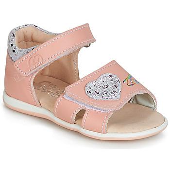 Pantofi Fete Sandale  Citrouille et Compagnie JAFALGA Roz