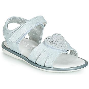 Pantofi Fete Sandale  Citrouille et Compagnie JAFILOUTE Gri