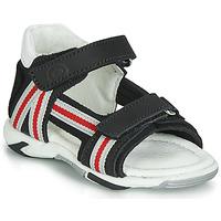 Pantofi Băieți Sandale  Citrouille et Compagnie JATILETTE Negru
