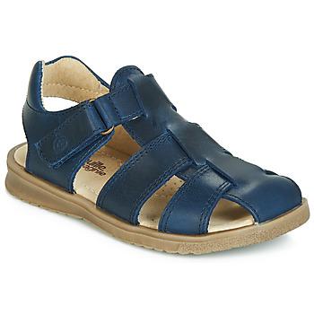 Pantofi Băieți Sandale  Citrouille et Compagnie JALIDOU Albastru / Culoare închisă