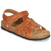 Pantofi Băieți Sandale și Sandale cu talpă  joasă Citrouille et Compagnie JANISOL Maro