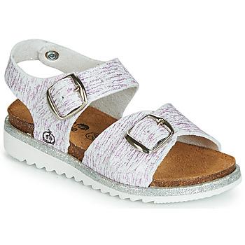 Pantofi Fete Sandale și Sandale cu talpă  joasă Citrouille et Compagnie JANETTA Alb / Violet