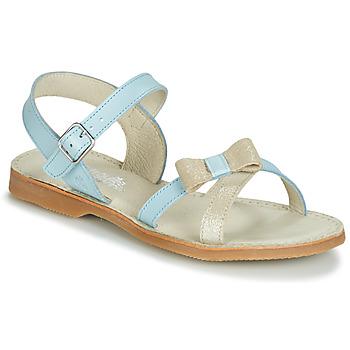 Pantofi Fete Sandale și Sandale cu talpă  joasă Citrouille et Compagnie JISCOTTE Albastru / LuminoasĂ
