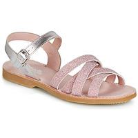 Pantofi Fete Sandale și Sandale cu talpă  joasă Citrouille et Compagnie JARDINA Roz