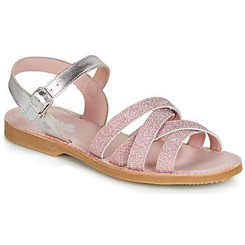 Pantofi Fete Sandale  Citrouille et Compagnie JARDINA Roz