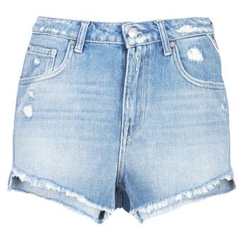 Îmbracaminte Femei Pantaloni scurti și Bermuda Replay PABLE Albastru / 010