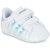 Încăltăminte Fete Pantofi sport Casual adidas Originals SUPERSTAR CRIB Alb