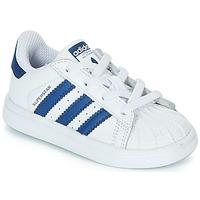 Pantofi Copii Pantofi sport Casual adidas Originals SUPERSTAR EL Alb / Albastru