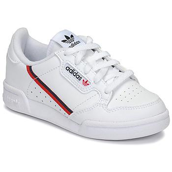 Pantofi Copii Pantofi sport Casual adidas Originals CONTINENTAL 80 C Alb