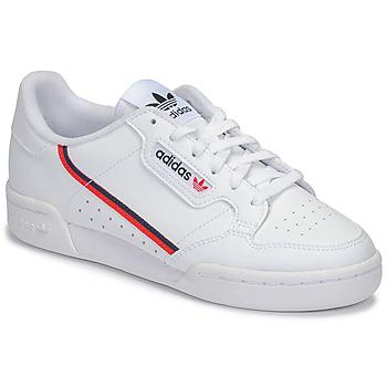 Pantofi Copii Pantofi sport Casual adidas Originals CONTINENTAL 80 J Alb