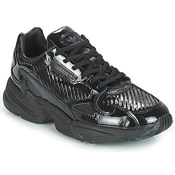 Pantofi Femei Pantofi sport Casual adidas Originals FALCON W Negru / Glitter