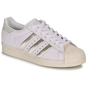 Pantofi Femei Pantofi sport Casual adidas Originals SUPERSTAR 80s W Alb / Bej