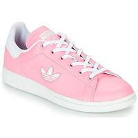 Pantofi Fete Pantofi sport Casual adidas Originals STAN SMITH J Roz
