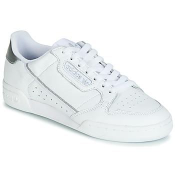Pantofi Femei Pantofi sport Casual adidas Originals CONTINENTAL 80s Alb / Argintiu