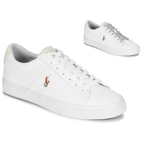Pantofi Bărbați Pantofi sport Casual Polo Ralph Lauren SAYER Alb