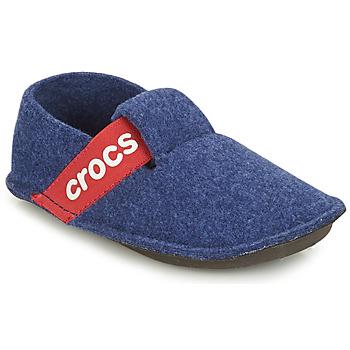 Pantofi Copii Papuci de casă Crocs CLASSIC SLIPPER K Albastru