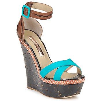 Pantofi Femei Sandale  Rupert Sanderson NISSA Albastru
