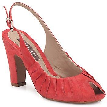 Pantofi Femei Sandale și Sandale cu talpă  joasă Janet&Janet PEONIA PLISA Roșu