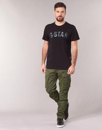 Îmbracaminte Bărbați Pantaloni Cargo G-Star Raw ROVIC ZIP 3D STRAIGHT TAPERED Kaki