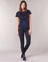 Îmbracaminte Femei Jeans skinny G-Star Raw LYNN D-MID SUPER SKINNY Albastru / Rinsed