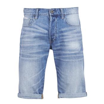 Îmbracaminte Bărbați Pantaloni scurti și Bermuda G-Star Raw 3302 12 Albastru / Light / Aged