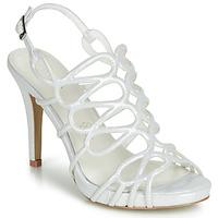 Pantofi Femei Sandale și Sandale cu talpă  joasă Menbur CLEMENTINA Alb fildeș