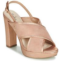 Pantofi Femei Sandale și Sandale cu talpă  joasă Menbur VILLALBA Roz / Gold
