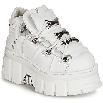 Pantofi Femei Ghete New Rock ROCKY Alb