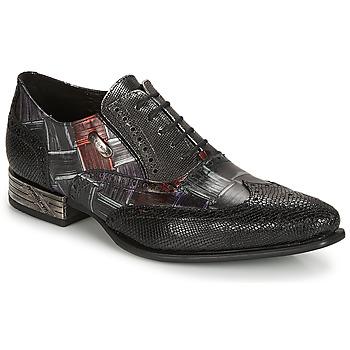 Pantofi Bărbați Pantofi Oxford New Rock SALSO Negru