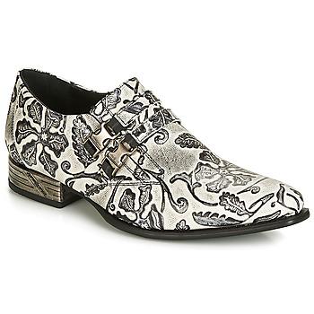 Pantofi Bărbați Pantofi Oxford New Rock SALSO Negru / Alb